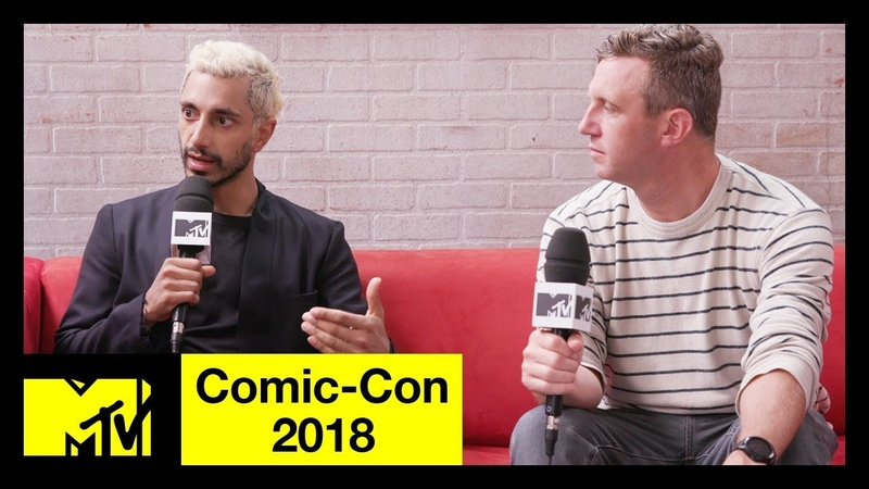 Venom Star Riz Ahmed Ruben Fleischer on Tom Hardy Anti-Heroes | Comic-Con 2018 | MTV