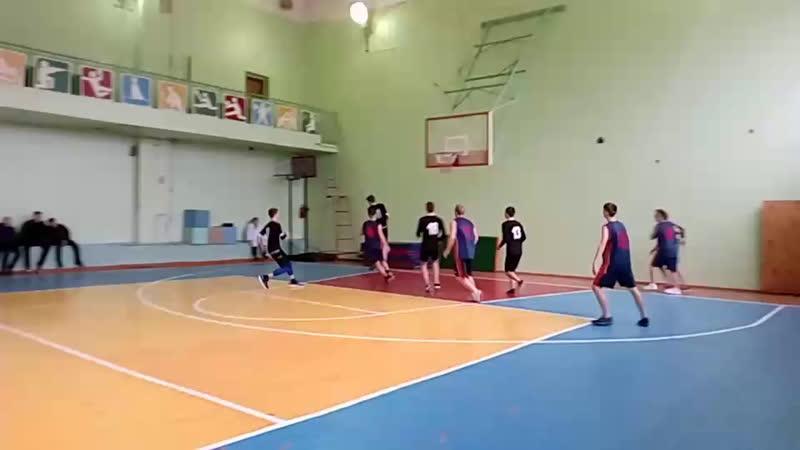 Баскетбол вГусе. 1-й полуфинал. Школа 2 - Школа 15 (vk.com/vguse)