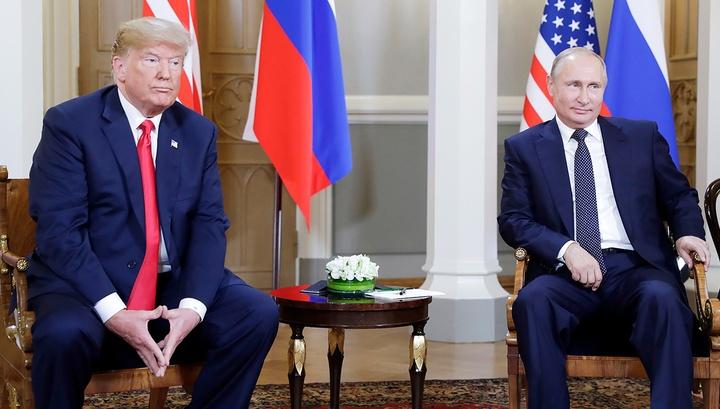 Вести Ru Перед беседой тет а тет Путин и Трамп раскрыли карты