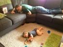 Когда папа посидел с ребенком один день - он видите ли устал, а когда мама сидит 1…