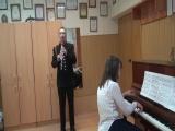 Вебер Концертино исполняет Елисеев Руслан 1 курс МВМУ