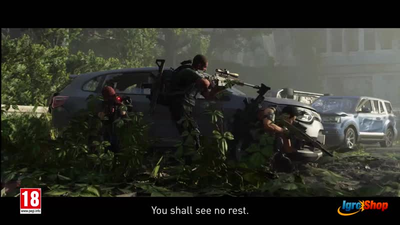 OFFICIAL THE DIVISION 2 EPISODE 1 TRAILER