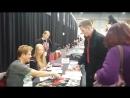 Comic Con (2015) Германия. Michael Dudikoff and Max Rester. Нет перевода