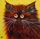 Английская художница Ким Хаскинс(Kim Haskins) рисует в очень забавной манере.