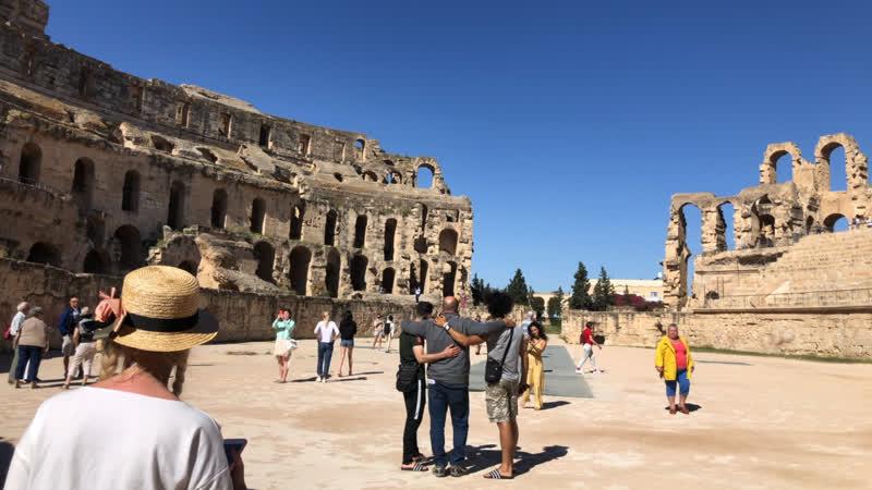 Римский амфитеатр, Эль Джем, Тунис 🇹🇳❤️