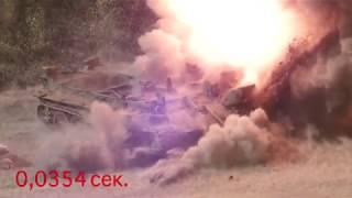 Подрыв Пмн-4 ТМ-62М ТМ-72 МОН-90 ТМ-83 ОЗМ-72 в замедленной съемке