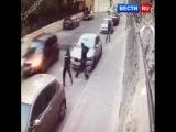 Появилось новое видео нападения на полицейских в Москве