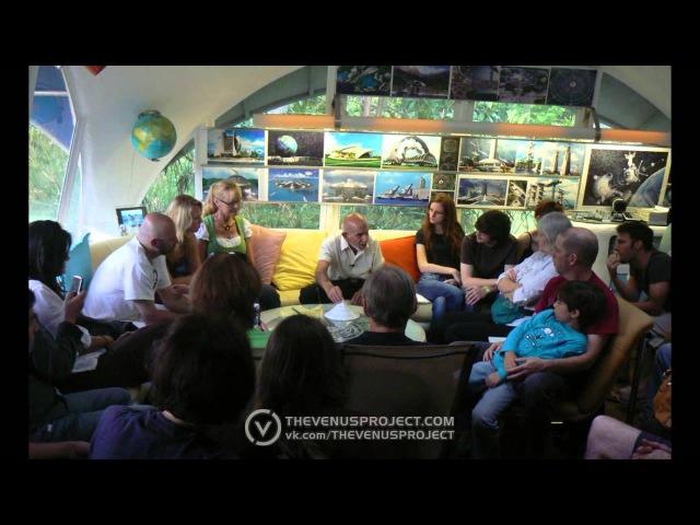 14.07.2013 Стен Айзин отвечает на вопросы о Проекте Венера