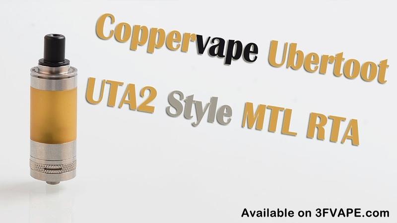 Coppervape Ubertoot UTA2 Style MTL RTA