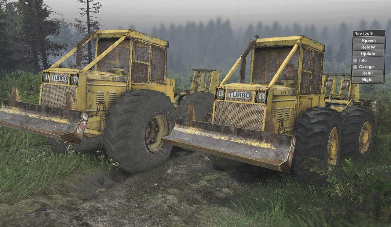 "LKT 81 Turbo ""Lakatoš"" для 8.11.15 для Spintires - Скриншот 3"