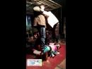 三个男人踩一个美女 step on belly trample.mp4