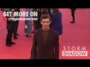 Tye Sheridan on the Friday's Child red carpet at the 2018 Deauville film festival