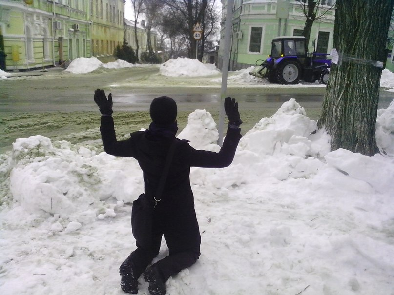 Список исчезнувшей снегоуборочной техники в Таганроге пополнился