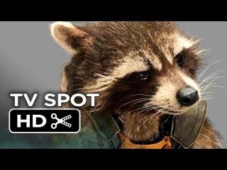 Защитники Галактики Трейлер Реактивного Енота / Guardians of the Galaxy Official TV Spot - Rocket Raccoon (2014) - Bradley Cooper Marvel Movie HD