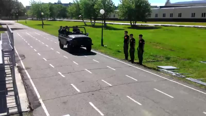 V УАЗа курсантами ОАБИИ 3 mp4