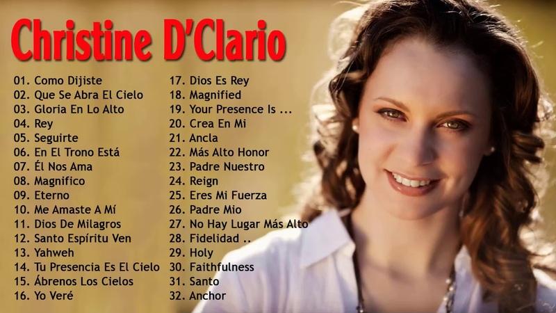 1 Hora de Música Cristiana con Christine D'Clario Sus Mejores Exitos, Alabanza y Adoración Explosiva
