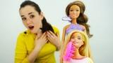 Барби готовится к свадьбе с Кеном - Игры в куклы для девочек