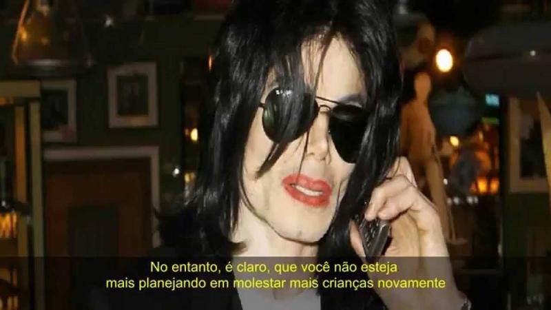 Michael Jackson recebe trote - 2007 (Legendado)