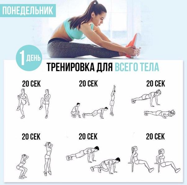 Правильные тренировки для похудения
