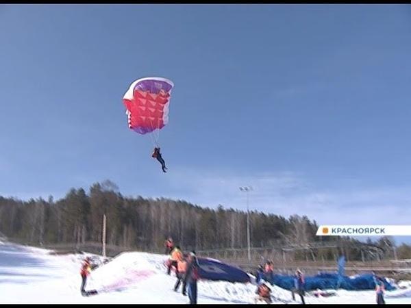 На красноярских склонах впервые прошел чемпионат России по пара ски