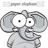 Paper Elephant - ❣почтовые открытки❣