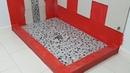 Install a Pebble Tile River Rock Shower Floor Part 8 Перестройка пола в душевой кабине