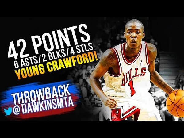 Young Jamal Crawford Full Highlights 2003.12.27 vs Wizards - 42 Pts, 6 Asts, 4 Stls, 2 Blks!
