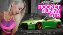 Mareike Fox Rocket Bunny Nissan GTR