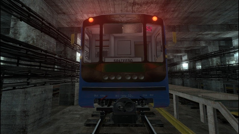 Metrostroi Neocrimson line TimeLapse