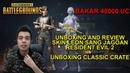 Bakar 48.000 UC Unboxing Review Skin LEON Classic Crate Terbaru! PUBG Mobile x Resident Evil 2