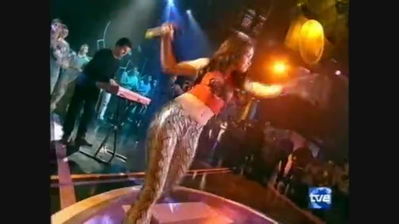 Natalia Oreiro - Rio De La Plata (Live) TVE Musica SI 2000 год VHSRip