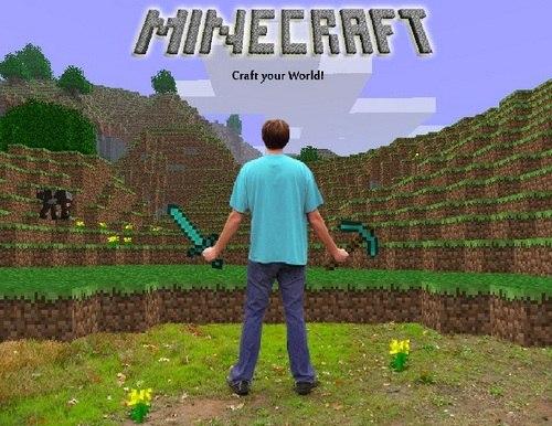 minecraft играть в настоящий майнкрафт