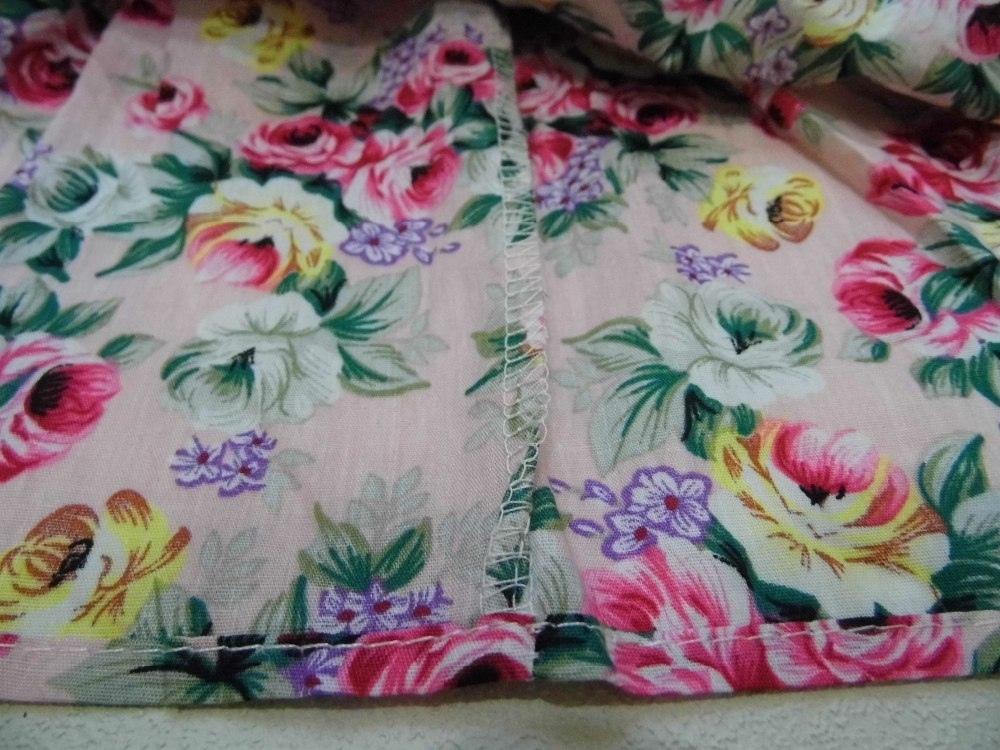 Недорогое платье в цветочек