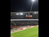 ФК Урожайная на матче Динамо - Зенит (4:0)