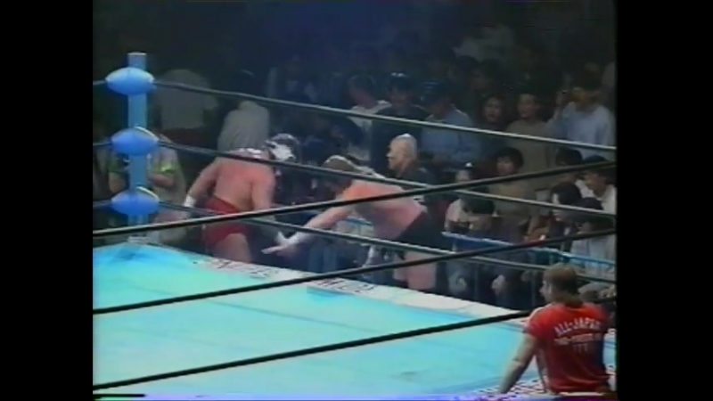 1993.06.03 - Stan Hansen/Joel Deaton vs. Steve Williams/Terry Gordy