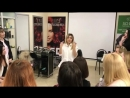 Гульнара Чекоева семинар в студии Keune Н Новгород