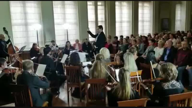 А.Вивальди финальная фуга кантаты Gloria Дирижёр Денис Карлов