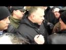 Титушка Захарченко защищает ОГА в Донецке 17 марта 2014