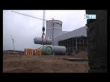 20.09.2017 Парогенератор установлен на штатное место на втором энергоблоке строящейся ЛАЭС