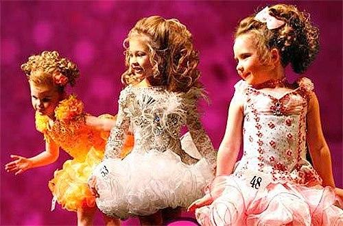 Подготовка на конкурс красоты детский
