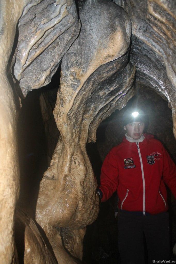 В Пашийской пещере