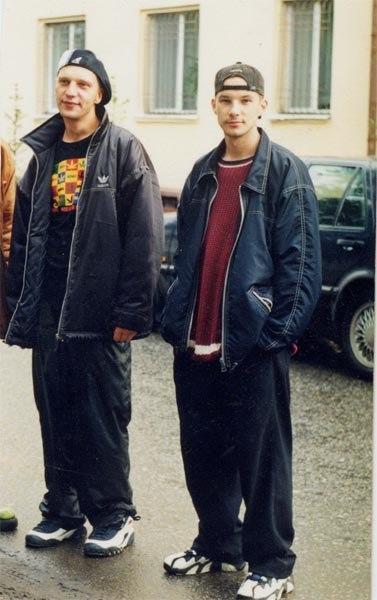 90-х в фотографиях история