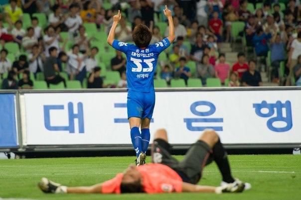 Футбол. Чемпионат Южной Кореи.05.07.14 14:00 Сувон - Кённам ставка 1