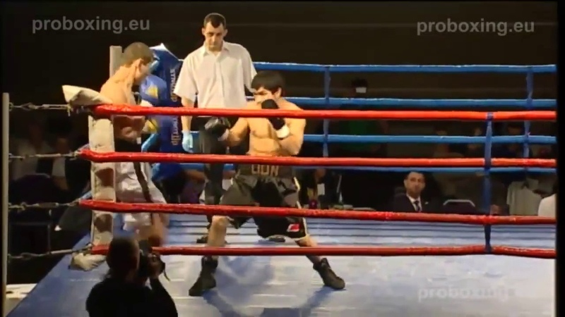 Sherali Mamadaliev the LION(TAG) VS Artem Korasev(LIT) Magadan Fights 27.12.2014