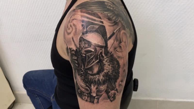 Тату-мастер Александр Каспер (realistic tattoo warrior) | Тату студия Дом Элит Тату (Tattoo Studio Moscow)