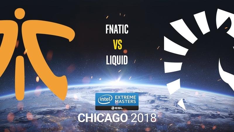 Fnatic vs Liquid - IEM Chicago 2018 - map1 - de_mirage [Anishared SSW]
