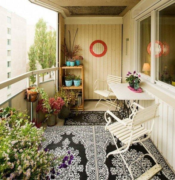 Идеи оформления балкона.