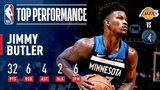 Jimmy Butler Pours In 32 Points In A Clutch Performance Against The Lakers October 29, 2018