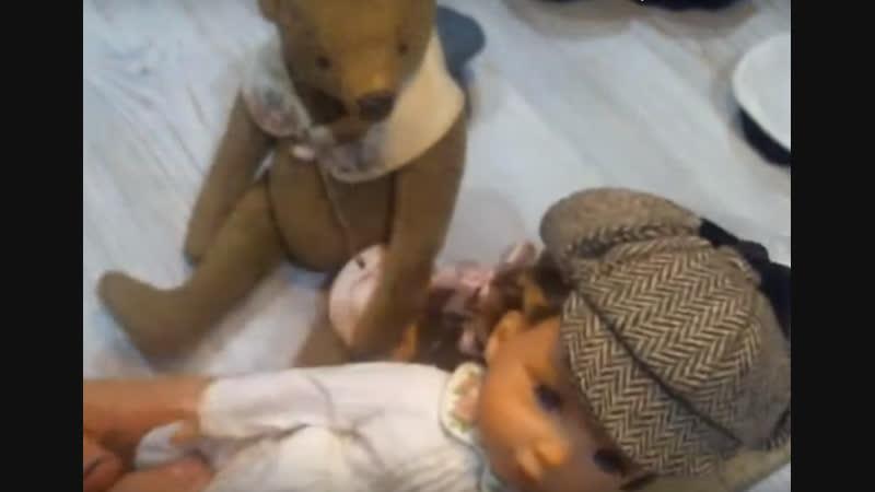 Береты и кепки для кукол и тедди автор Альбина Глумова