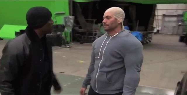 Diesel Time Paul Walker Imitates Vin Diesel On The Set Of 'Fast Furious'